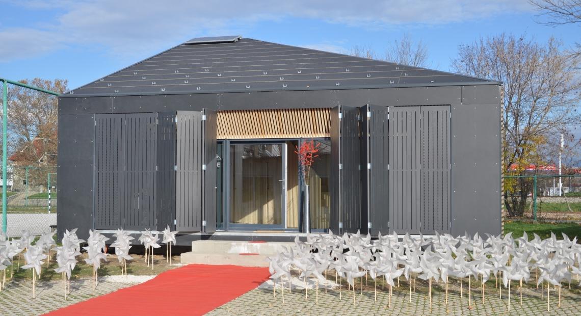 Lumar - Lumarjeva Hiša prihodnosti in vzorčni objekt NEVA na ogled