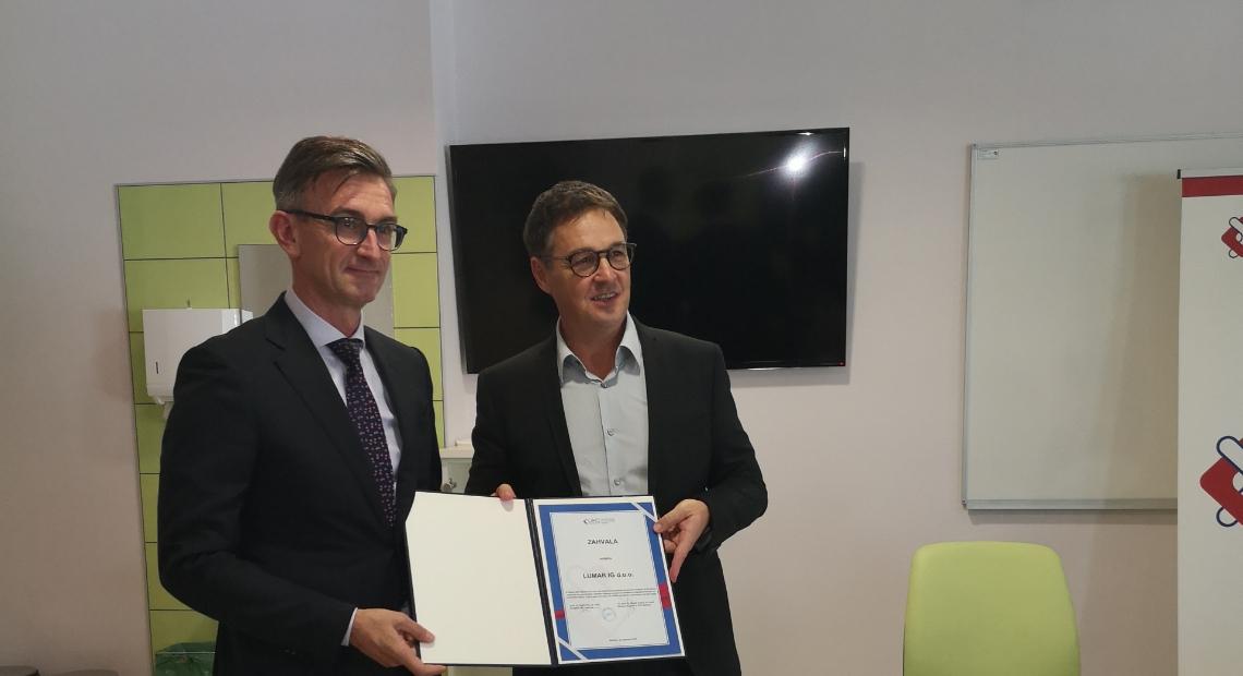 Lumar - Odzvali smo se javnemu pozivu UKC Maribor