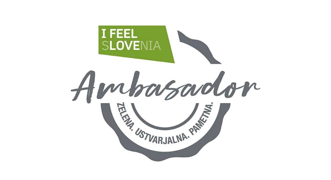 Lumar - Postali ambasador kampanje »I FEEL SLOVENIA. Green. Creative. Smart.«