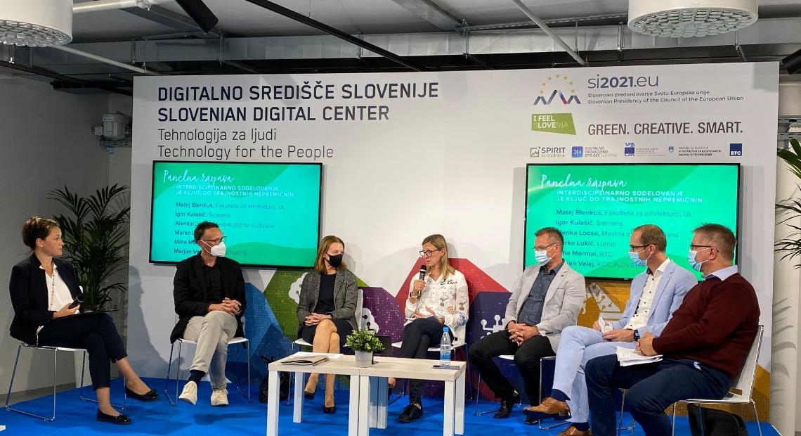 Lumar - Posvet v sklopu nacionalne kampanje Šampioni zelene preobrazbe