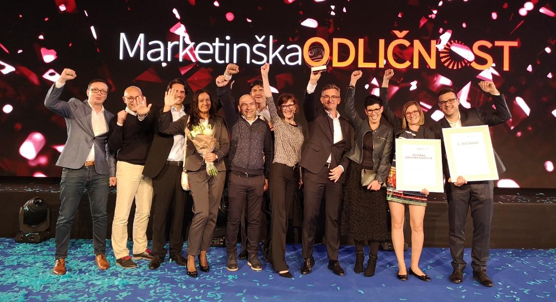 Lumar - Smo zmagovalec nagrade Marketinška odličnost 2019
