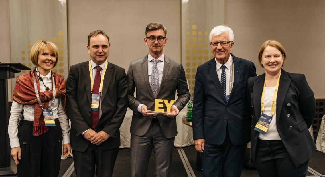 Lumar - Uradno prevzeli nagrado odličnosti EY
