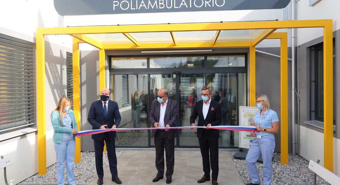 Lumar - V Luciji otvorili prvi skoraj nič-energijski zdravstveni dom v Sloveniji
