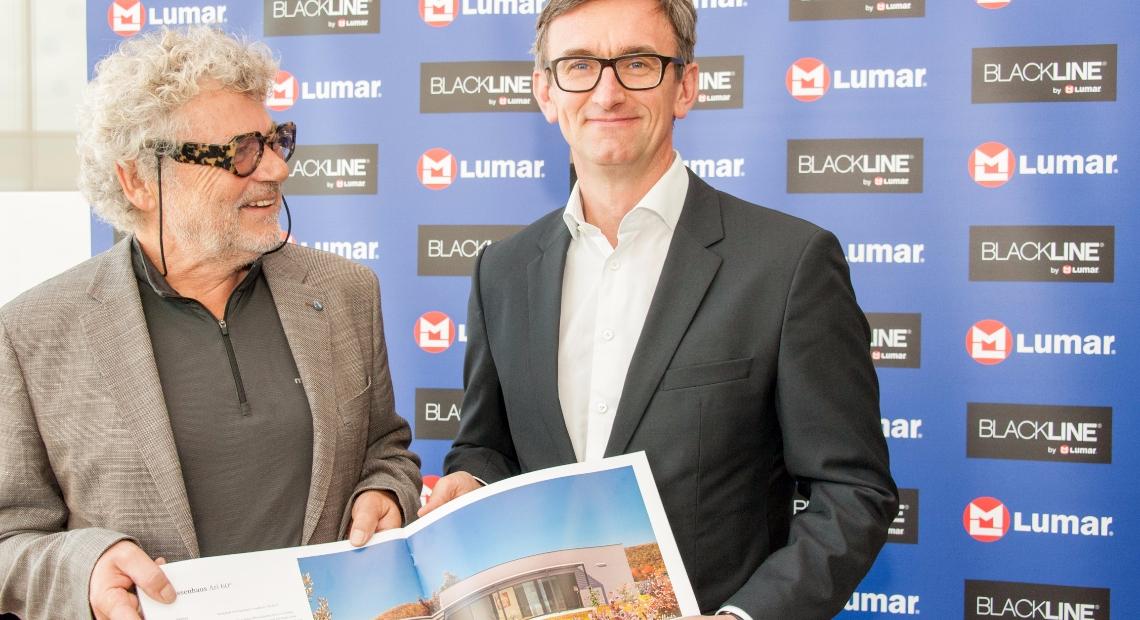 Lumar - Začeli sodelovanje s pionirjem montažne gradnje Arijem Griffnerjem