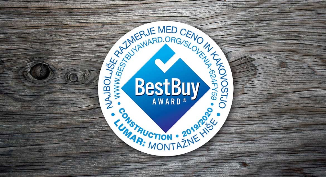 Lumar - Že tretjič zapored do certifikata »Best Buy Award«
