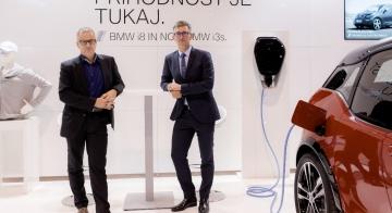 Leto dni od začetka sodelovanja z BMW Group Slovenija