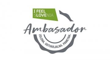 Postali ambasador kampanje »I FEEL SLOVENIA. Green. ...