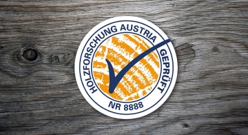 Prejeli znak Holzforschung Avstrija
