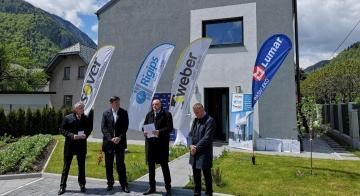 Z multinacionalko Saint-Gobain predstavili prvo skoraj nič-energijsko MultiComfort hišo