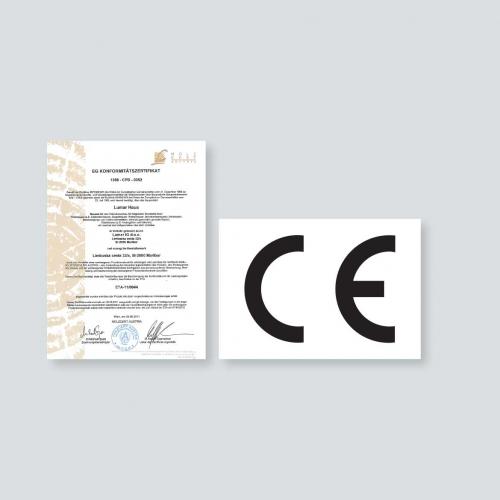 Lumar - Znak CE