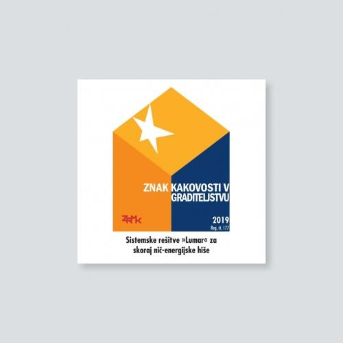 Lumar - Znak kakovosti v graditeljstvu (ZKG)