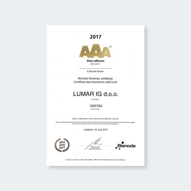 Lumar - Finančna stabilnost