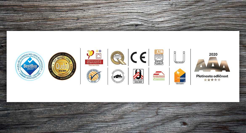 Lumar - Certifikati