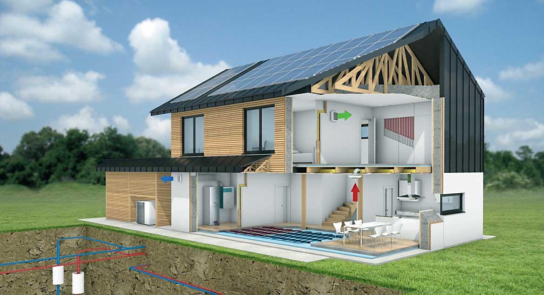 Lumar - Koncept skoraj nič-energijske hiše Lumar