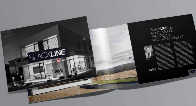 Lumar - Katalog hiš Lumar BlackLine