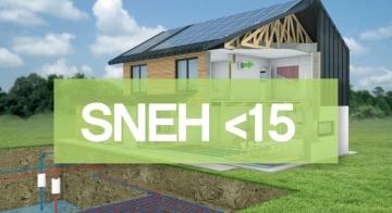 Lumar - Skoraj nič-energijske hiše pod 15 kWh/m2 a Lumar (SNEH <15)